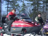 Snowmobiling February 2009